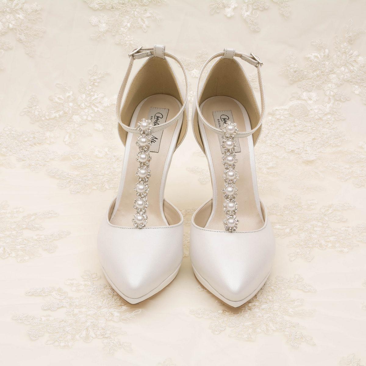 Adelle Pearl Pantofi Mireasa